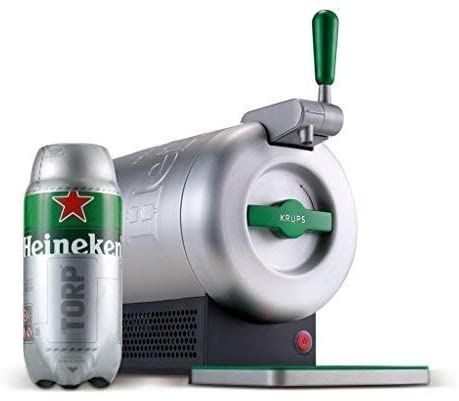 Barriles cerveza 2 litros Krups the sub compact Heineken