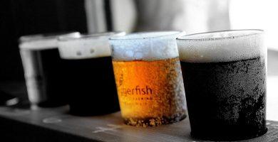 tirador de cerveza artesanal